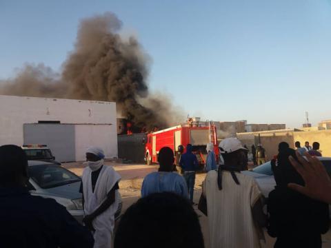 عاجل/ حريق ضخم في تفرغ زينة يطال شققا ومنازل ومتاجر (صور)